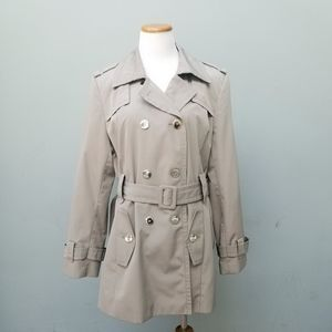 Calvin Klein Taupe Trench Coat XL